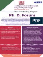 Phd Forum