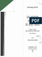 Paul-Dominique Dognin-Les « Sentiers Escarpés » de Karl Marx. 2-Les Éditions Du Cerf (1977)