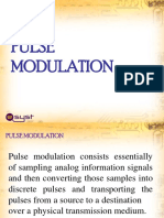 2. Digital Transmission (Pulse Modulation)