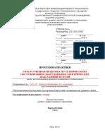 1. Макет Программы Учебная Практика