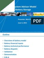 Battery Summary