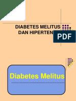 Edukasi DM Dan Hipertensi