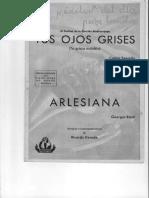 Arlesiana - foxtrot (G. BIZET)