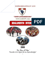 29 12 17 Avance Reglamento Interno 2018