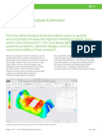 PTC Mold Analysis Extension