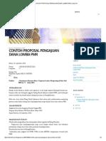 Contoh Proposal Pengajuan Dana Lomba Pmr _ Anton Fer