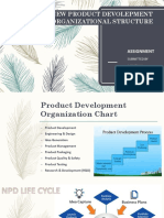 NEW PRODUCT DEVOLEPMENT ORGANIZATIONAL STRUCTURE.pptx