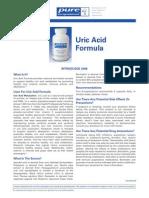 Uric Acid Formula