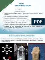 Tema 3. Morfologia Cristalina