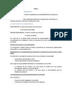 Tema 5. El Incumplimiento de Las Obligaciones.