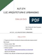 AUT274 Aula5 DialuxEVO Luznatural