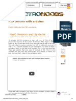 PID Control Arduino Drones Mpu6050