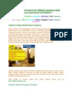 9999684904::Unitech Noida Property::9899788350