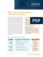 Swift Customer Security Program Protiviti