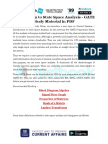Introduction to State Space Analysis - GATE Study Material in PDF