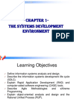Module 1 - The Systems Development Environment