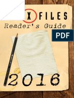 x Files Readers Guide
