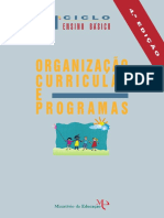 Programa 1º Ciclo do Ensino Básico