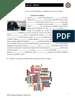 Português para Estrangeiros - Lição 10 - Exercício 04 - Artigos definidos e indefinidos