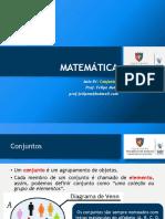 Matemática 01 SLD Conjuntos