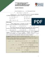 Matemática 05 NA Sistemas Lineares