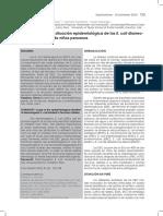 Alcances Sobre La Situación Epidemiológica de Las E. Coli Diarreogénicas