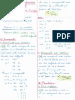 Probabilités (1) - Analyse Combinatoire (Polycopié)
