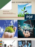 Technology vs Environment