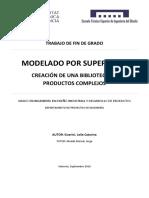 GUERINI - MODELADO POR SUPERFICIES. Creación de Una Biblioteca de Objetos Complejos.