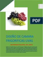 Diseño de Camara Frigorifica Uvas