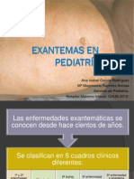 Exantemas en pediatría