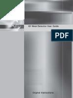 814180-G-EnG - IQ3 Metal Detector User Guide