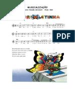 Musicalização infantil borboletinha