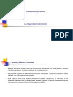 4. La Organizacion Contable