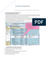 DTP and Error Handling