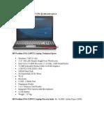 HP Pavilion DV Series Laptop