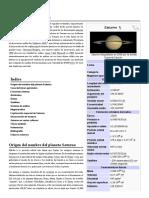 Saturno (Planeta)