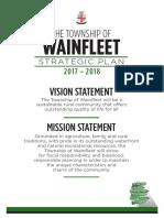 Wainfleet Strategic Plan 2017-2018