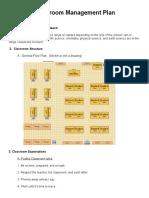 wipfclassroommanagement plan