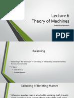 Lecture  Balancing