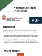 Diseño y Construcción de Polvorines