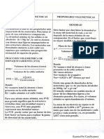 Formulario propiedades Volumetricas