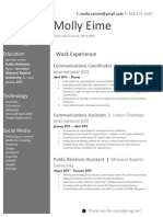 mollyeime resume 2017