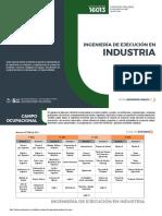 Ingenieria de Ejecucion en Industria