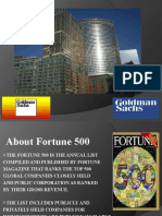 Goldman Sachs Strategy