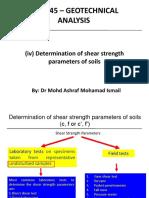 Shear Strength of Soils (5)