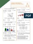 Ficha de matematica 4° 1