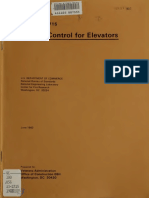 1983 Smoke Control for Elevators Report