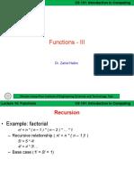 ITC Lect 14 [Functions-III]