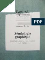 Sémiologie graphique - Jacques Bertin